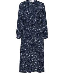 adaleepw dr jurk knielengte blauw part two