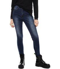 jeans ellus skinny azul - calce ajustado