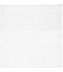 persiana horizontal em pvc premier 160x160cm branca