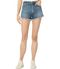 joe's jeans the emmy cotton denim shorts