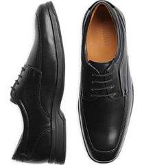 belvedere times black moc toe dress shoe