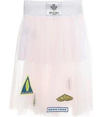 mr & mrs italy tulle skirt for woman