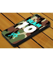 jake paul team 10 white mint camo for iphone 4 5c 5s se 6 6+ 7 7+ samsung case