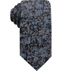 ryan seacrest distinction men's boone slim floral tie, created for macy's