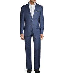 trabaldo togna 1840 slim-fit virgin wool suit