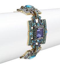 heidi daus women's deco windowpane bracelet