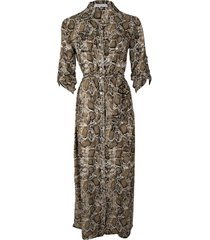 srndpty maxi dress celeste snake army