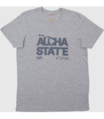 camiseta bold hawaii rvca