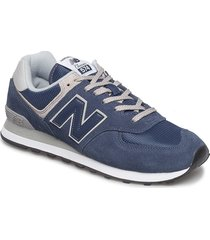 ml574 shoes sport shoes low-top sneakers blauw new balance