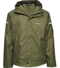føyno 2-layer teachnical rain jacket outerwear sport jackets grön skogstad