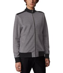 boss men's shepherd 25 black sweatshirt