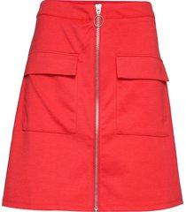 fqmarly-sk kort kjol röd free/quent