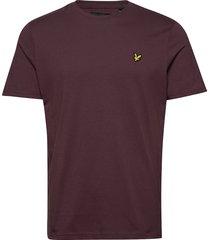 crew neck t-shirt t-shirts short-sleeved röd lyle & scott