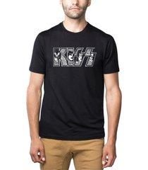men's kiss premium blend word art t-shirt