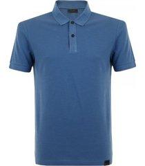 belstaff pearce cerulean polo shirt 71140129