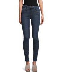 joe's jeans women's mid-rise skinny jeans - blue - size 26 (2-4)