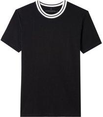 camiseta john john rg bristol black malha algodão preto masculina (preto, gg)