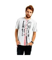 camiseta aes 1975 fashion masculina