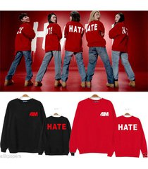 kpop 4minute 4 minute kim hyun a sweater jumper cotton act7 hate pullover jihyun