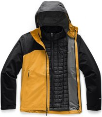 chaqueta thermoball triclimate amarillo the north face