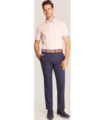 pantalón casual bolsillos azul 34