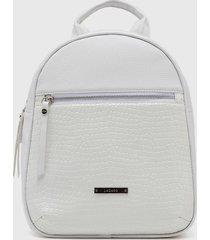 mochila blanca lazaro black