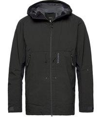 bengt usx jkt 2 outerwear rainwear rain coats svart didriksons