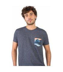 t-shirt eco friendly bolso sublimado masculina
