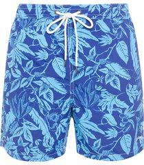 short masculino praia abacaxi - azul