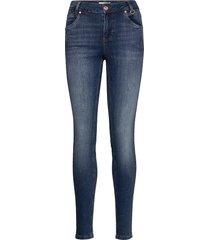 pzcarmen highwaist skinny skinny jeans blå pulz jeans