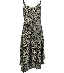 405579 jurk spaghetti leopard