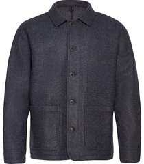 double knit chore jacket dun jack grijs gap