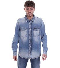 overhemd lange mouw calvin klein jeans j30j315518