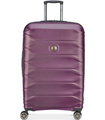 "delsey meteor 28"" hardside expandable spinner suitcase, created for macy's"