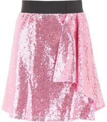 in the mood for love sequins lindsey mini skirt
