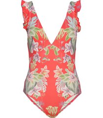 althea swimsuit badpak badkleding rood by malina