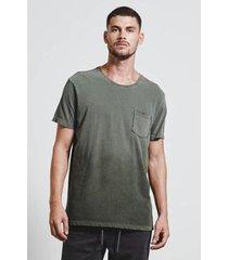 t-shirt rib pocket masculina - masculino
