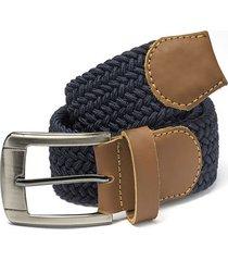 cinturón trenzado azul turquí doshka