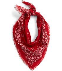 women's madewell shadow petal fringe bandana