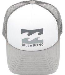 boné billabong podium truck c branco/cinza