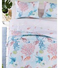sarasota quilt set, 3-piece full - queen
