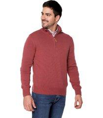 sweater fresa 54 preppy m/l c/alto 1/2 cremallera t.grueso