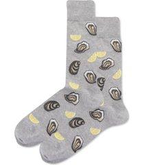 hot sox men's oysters crew socks