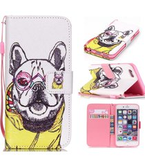iphone6 case,iphone 6s case,xyx [dog clothes] - [kickstand][wallet][card slot][f