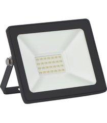 refletor slim taschibra tr20, 20 watts, 6500k - preto