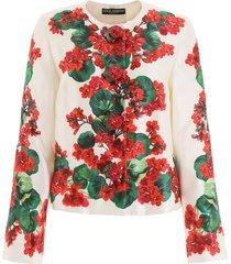 dolce & gabbana portofino print jacket