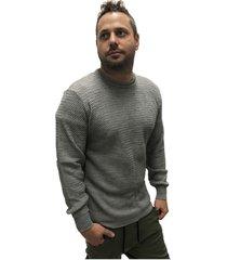 sweater gris desigual