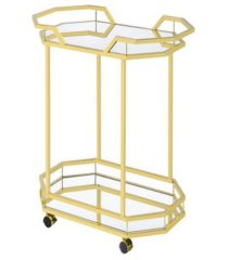 bronson 2-tier serving cart