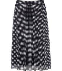 smårutig kjol