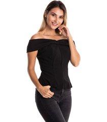 blusa-4693- kolor latino-negro